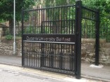 qub metal security gates