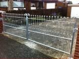 metal entrance gates lisburn
