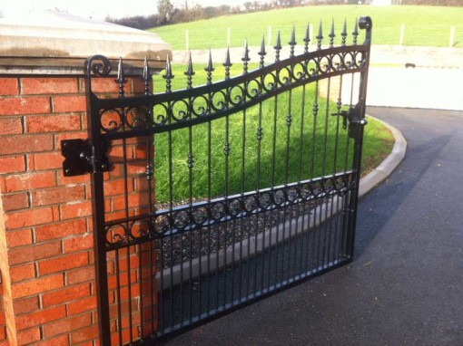 private driveway gates drapperstown