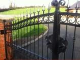 metal decorative driveway gates