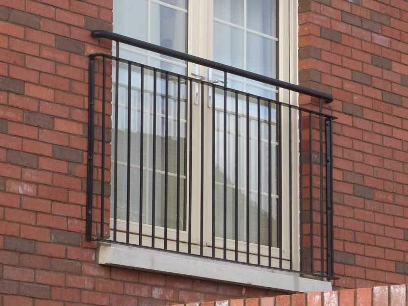 Balcony railings northern ireland bam fabrications for Balcony handrail
