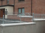 metal walltop railings