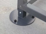 cycle-shelter-adjustable-feet