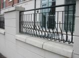 decorative steel balcony railings