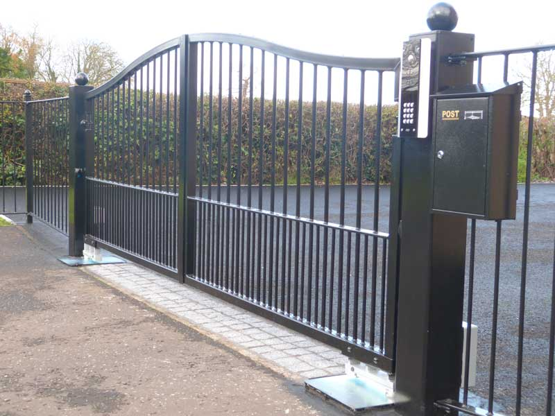 how much are electric front gates