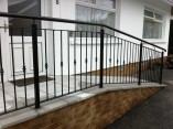 disability ramp railings