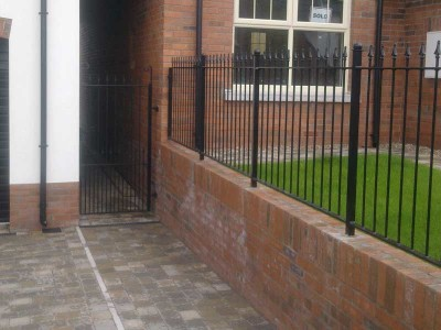 steel stair safty railings
