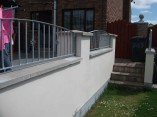 metal garden wall railings