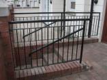 metal railings entrance