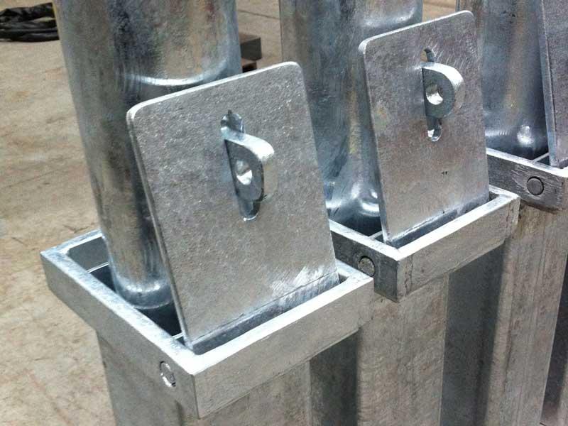 Metal Bollards In Northern Ireland Bam Fabrications