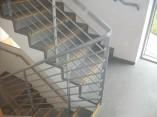 metal fire escape railings