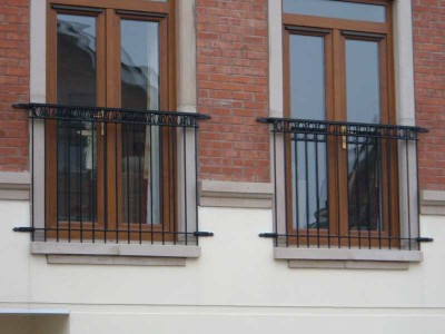 Garden railings northern ireland bam fabrications for French balcony railing