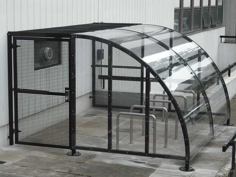 Cycle Shelters Bam Fabrications