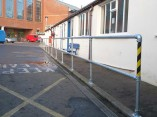 metal-safty-railings-queens-works-department-belfast