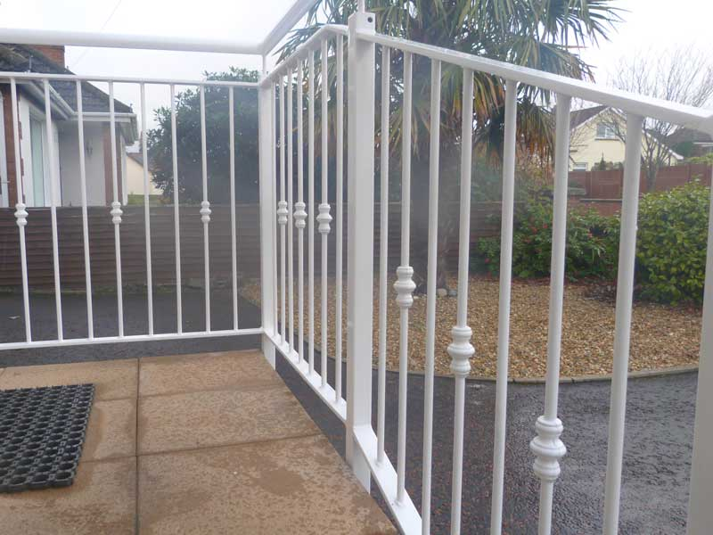 ... Outdoor Metal Handrails ...