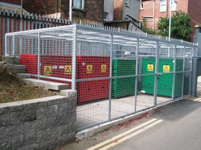 secuirty cage MBC belfast