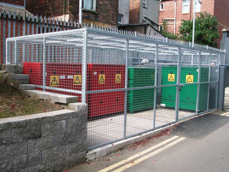Security Cages Amp Enclosures Northern Ireland Bam