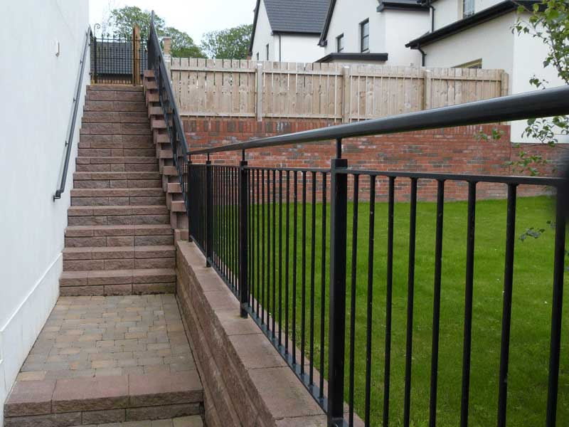 Steel Handrails | Northern Ireland | Bam Fabrications