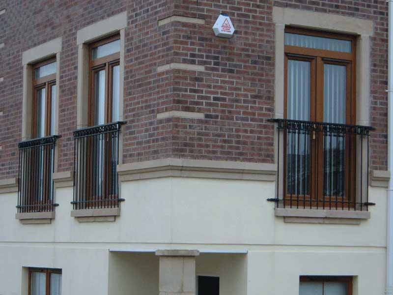 Balcony Railings | Northern Ireland | Bam Fabrications