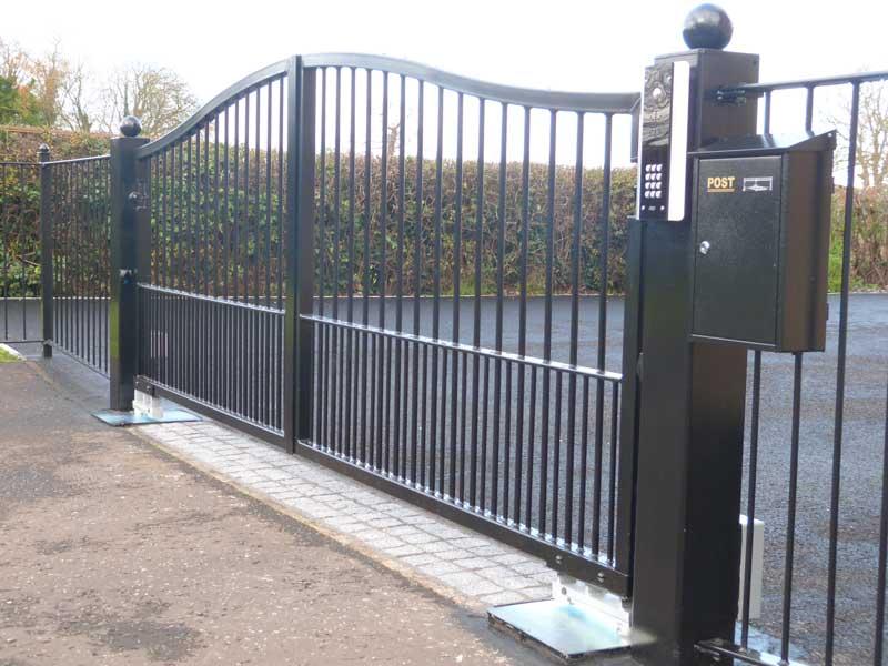 Iron Gates Driveway Simple